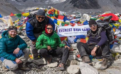 Everest Base camp Chola Renjo la Pass
